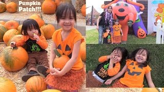Family Vlog: Halloween Trick or Treat, Kiddie Playground, Inflatable Jumpers and More! 2016
