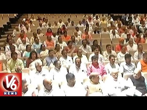 BJP And Congress Holds Parliamentary Meeting Ahead Of Rajya Sabha Dy Speaker Election | V6 News