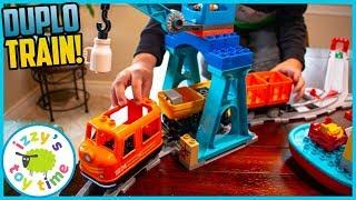 LEGO DUPLO CARGO TRAIN! Fun Toy Trains for Kids!