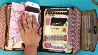 Handbag / Purse Scrapbook Album
