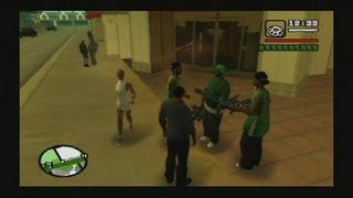 GTA San Andreas PS2 classics 100% hacked save - HD 1080p