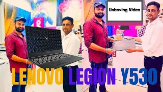 Lenovo Legion Y530 Gaming Laptop I Unboxing & First Impressions Latest Video