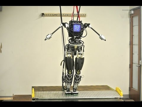 Atlas Revealed: Boston Dynamics  DARPA Robot