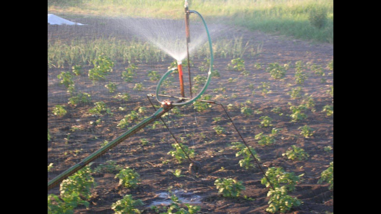 Поливалка распылитель для огорода своими руками