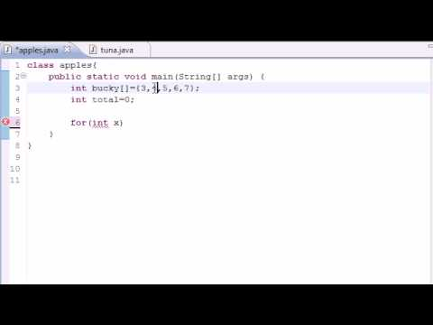 Java Programming Tutorial - 31 - Enhanced for Loop