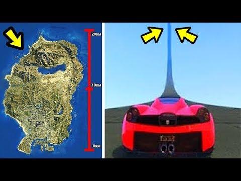 Только так я перепрыгнул всю карту GTA 5...