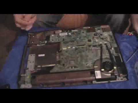 HP pavilion dv6000 video chip fix (reflow)