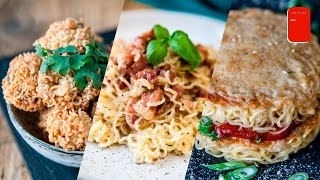 3 Easy Recipes with Instant Ramen Noodles