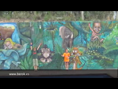 Murales infantiles pintados a mano para niños y bebés