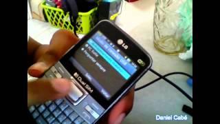 Como fazer para o LG C199 transmitir dados do Catão SD para o Computador