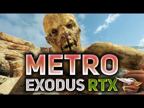 Metro Exodus RTX ON - Каспий - Полное прохождение на харде - Часть 2
