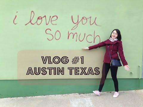 VLOG #1 | Austin TX: South Congress Avenue