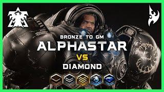 Diamonds AlphaStar Bronze to GM Ep4 [TvP] Deepmind A.I. Starcraft 2