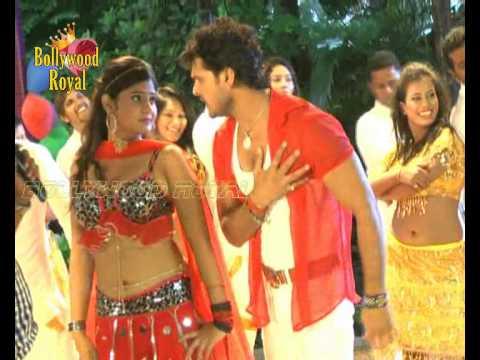 Khesari Lal And Neha Shree Song Shoot Of The Bhojpuri Film 'ladala'  2 video