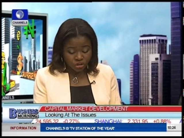 Capital Market Development: Looking At The Issues. PT1