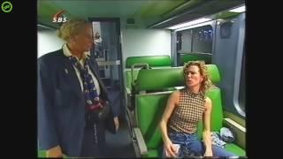 """Ruzie in de Trein (Classic): """"Een negerin met een bril op, ken niet goed zijn"""""""