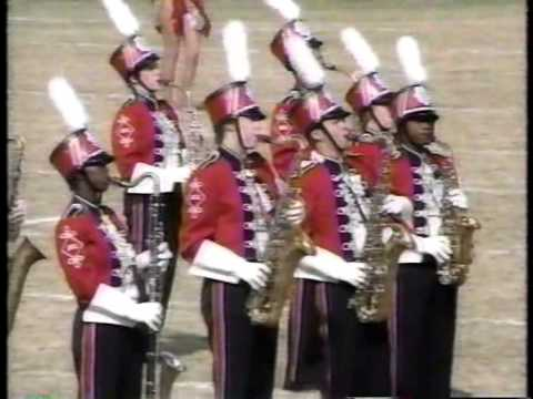 Jasper High School Band 1989 - UIL Region 10 Marching Contest