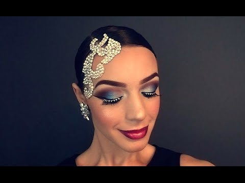 Фото сценического макияжа для танцоров