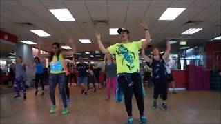 Que Me Has Hecho, Chayanne Ft Wisin. Zumba routine By Jorge E. C.