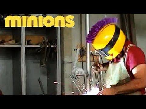 Faça você mesmo uma máscara de solda   Welding Mask - DIY