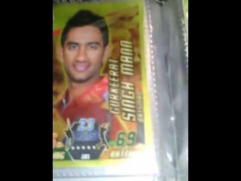 Cricket Attax Cards 2014 Cricket Attax 2014/15 Full