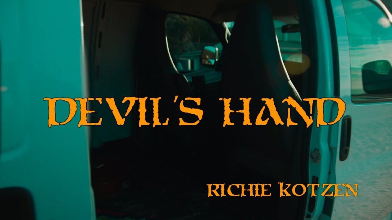 "Richie Kotzen - ""Devil's Hand""のMVを公開 新譜「50 For 50」2020年2月3日発売 thm Music info Clip"