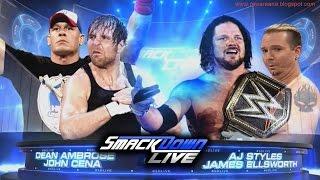 WWE Smackdown 9 13 16  Highlights   WWE Smackdown 13 September 2016 Highlights