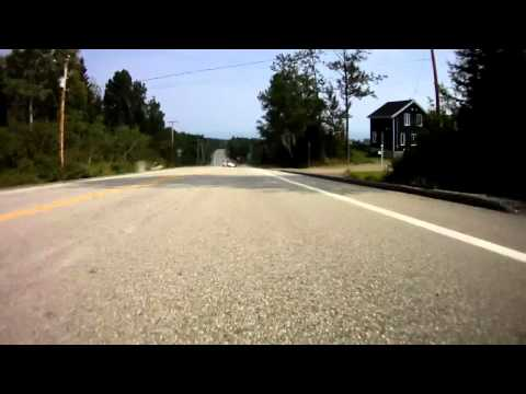 96km/h crash on a longboard