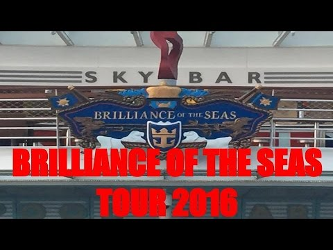 Royal Caribbean Brilliance of the Seas Tour March 2016