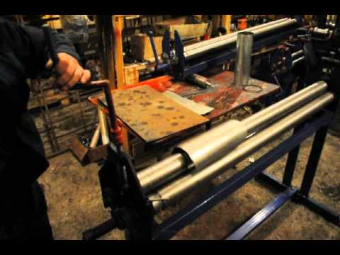 Вальцы для листового металла своими руками видео 131