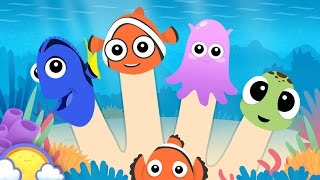 Sea Animals Finger Family + More! | Mega Finger Family Collection | CheeriToons