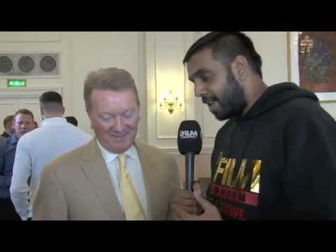FRANK WARREN TALKS CLEVERLY, KOVALEV, QUIGG, FROCH & SOCIAL MEDIA / iFILM LONDON