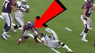 9 NFL Players Who Suffered a FREAK Injury and Still Scored a Touchdown...ON THE SAME PLAY