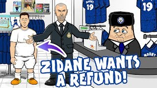 😠Eden Hazard ... Zidane wants a REFUND!😠