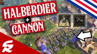 Halberdier + Cannon Combo!! | Strategy School | Age of Empires III
