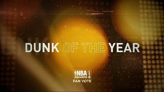 Inside The NBA: Dunk of the Year Nominees