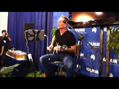 Phil Collen shows off AmpKit and gives us a quick lesson at NAMM 2011
