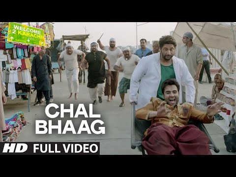 'Chal Bhaag' Full VIDEO Song | Welcome 2 Karachi | T-Series