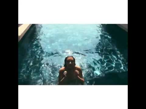 Kim Kardashian Swimming Video 1