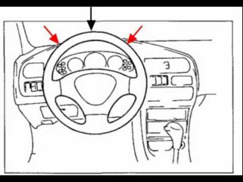 Loose steering wheel cover - cheap fix