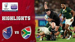 New Zealand 23-13 South Africa | Rugby World Cup 2019 Match Highlights