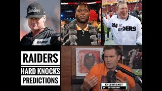 Raiders Hard Knocks Predictions with Kyle Brandt | The Lefkoe Show