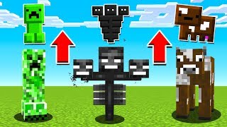How to turn ANY Minecraft Boss into an ITEM!