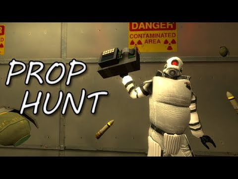 BLOW IT ALL UP! (Garry's Mod Prop Hunt)