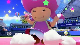 Mario Tennis: Ultra Smash - Mega Battle Doubles (First Take)