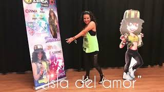 """Isla Del Amor"" zumba fitness , Tatiana niz"