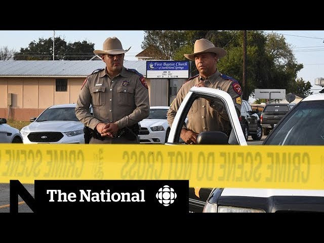 Texas shooting leaves a hole in community's heart