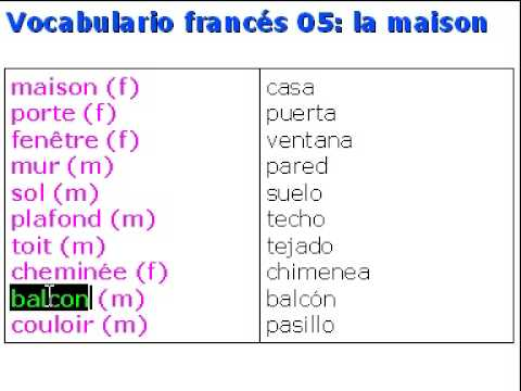 Vocabulario - la maison - Namathis.com - photo#16