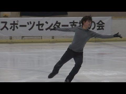 町田樹選手でジャンプを見分けよう『「五輪へ力強く向かう」 フィギュア町田選手が練習公開』編