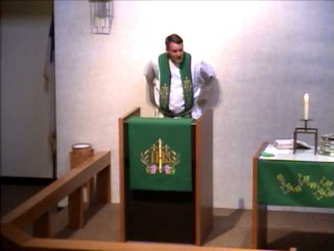 8-17-14 Good Shepherd Lutheran Church Service - 08/17/2014